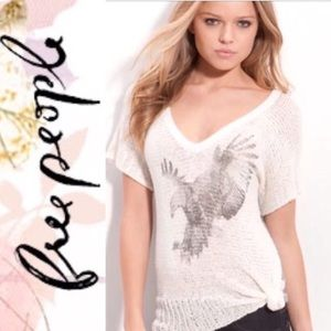 FREE PEOPLE SORE ABOVE EAGLE SWEATER